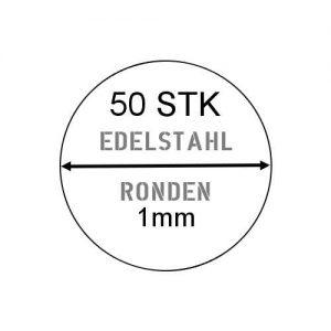 Edelstahlronde 1mm