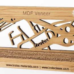 Furniertes Holz