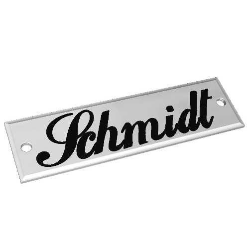 Aluminiumschild 60x20mm