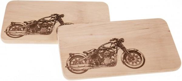 Branddruck - Motiv Motorrad