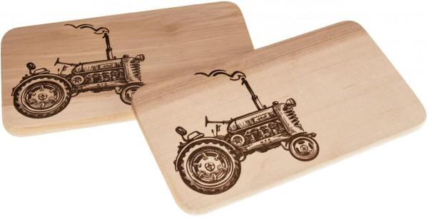 Branddruck - Motiv Traktor
