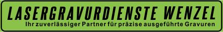 Lasergravurdienste Wenzel Logo