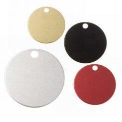 Aluminium Ronden, verschiedene Farben