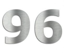 Edelstahl Hausnummern