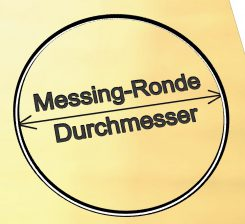 Messing-Ronden