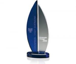 Acryl Pokal Indigo Rosedale