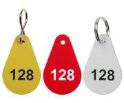 Kunststoff Zahlenmarken